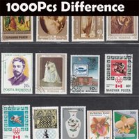 Wholesale No Repeat Postage Stamp Collections From All Over The World With Post Mark Stamps Postal All Used For Collection