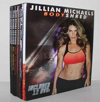 Wholesale 2016 NEW Jillian Michaels BODYSHRED Workout DVD Base Kit BONUS DVD DVD INCLUDED Fitness workout BRAND NEW Fast DHL