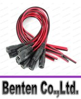 Wholesale CCTV Security Camera Power Pigtail female Cable DC power connector cable V monitor connector LLFA11