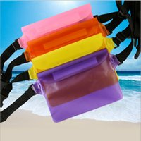 apple ipad size - 2017 Summer big size PVC waterproof Waist bag Pouch Outdoors drift swimming sports full sealed pocket For iphone s plus Note ipad mini
