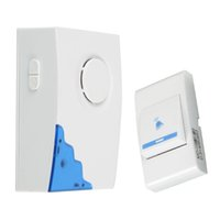 Wholesale High Quality Wireless Mini Doorbell Ring Tones Music Door Bell Transmitter Receiver Home Gate Security Door Bell Doorbell