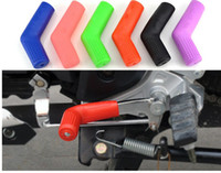 Wholesale 5PC New Gear Gear shift lever sets Shoes protector Pouches Cycling Riding Motorbike Parts Motorcycle Accessories