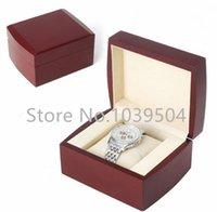 Wholesale New Wooden Watch Box Red Brand Watch Box Fashion Watches Gift Box Storage Box Watch Cases
