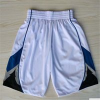 Wholesale Minnesota Basketball Shorts Stitched Logo Embroidery New Material Rev Sports Shorts Mix order