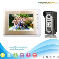 apartment sales - XSL V70C M2 V1Hot Sale Night Vision inch cheap multi apartments video door phone