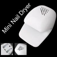 air blower machine - Hot Set White Mini Nail Dryers Finger Toenail Blower Nail Art Machine Manicure Tools For Woen Beauty