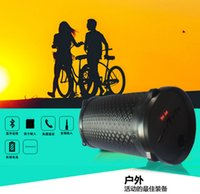 Wholesale New Outdoor W Sports Subwoofer Bluetooth Speaker Wireless mAh Powerful Portable Speakers by radio FM mp3 player