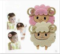 Wholesale Children s hair accessories Princess girls hair clips Coils of sheep hair clips sequins security hairpin Cute cartoon baby Hair accessories