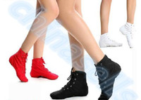 adult jazz shoes - Adult kid Jazz Dance Shoes Lace Up Boots Woman Jazz Sneaker Dance Shoes Soft Light Weight Jazz Boots ballet shoes