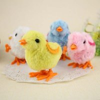 chicken run - K17 Hot Selling Children s Educational Toys Colored PPlastic Chain Will Run On Clockwork Kawaii Chick Chicken Jumping