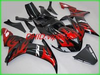 fairing r1 - 3 gifts New Great Motorcycle Fairing kit for YAMAHA YZFR1 YZF R1 YZF R1 YZR1000 Fairings Bodywork loves red flame