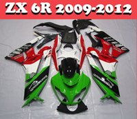 Wholesale 7 Gifts Motorcycle Fairing Kits FOR Kawasaki ZX R ZX6R ZX R ABS Compression Mold Bodywork