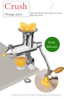 fruit squeezer - Time Limited ECO Friendly Stainless Steel Healthy Fruits Vegetables Wheatgrass Juicer Blender Lemon Squeezer Juicer