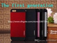 Iphone 6 más el dibujo del alambre de acero de Motomo del Sur Corea para Iphone 6 6plus 5 casos 5s 4s caso de Iphone 6 100 PC / porción