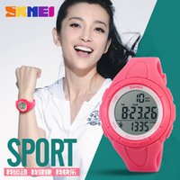 alloy steps - Spot the new fashion casual ladies movement D step table waterproof electronic watches students electronic watches