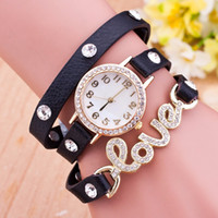 Cheap Fashion Lady watches Best DIY wool Braided Watches