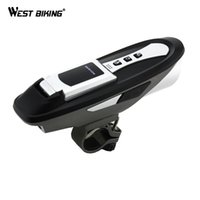 bell wireless computer - 6 Function Cycling Compute Light Sound Bluetooth Phones Bell USB Mobile Phone Charger Bicycle Waterproof Wireless Bike Computer