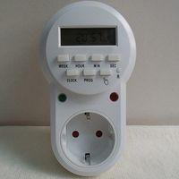 Wholesale High quality v V plug in switch socket digital timer converter Energy saving programmable timers temporizador EU Plug