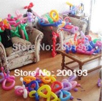 Wholesale Free Gift TOP Quality INCH Mix Various Colors Latex Long Balloons for Party and Wedding Decoration