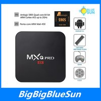 best tv models - 4k android MXQ pro tv box s905 quad core android best model s805 upgrading version