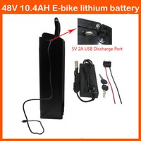 Wholesale Bottom Discharge W V AH lithium ion battery mah cells with USB Port A charger