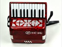 Wholesale HCYQ key bass accordion keyboard type entry level students to practice the accordion Bass