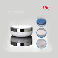 bb pearl case - 15g pearl white sponge foundation case g BB cream container cream container plastic Cosmetic Packaging