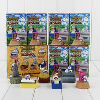 Wholesale Cute Birthday Doraemon - Anime Cute Doraemon Storage Box PVC Action figure Colletable Model toy Child's Birthday Gift Free shipping retail