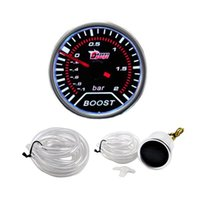 auto meter led indicator - quot mm Car Cars Auto LED Turbo Boost Gauge Indicator Smoke Tinted Meter