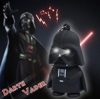 Wholesale 2015 New Star Wars Figures toy Black Knight Darth Vader Stormtrooper PVC Action Figures LED toys