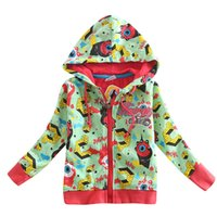 Wholesale 100 pure cotton spring and autumn mixed color cartoon pattern casual fashion generous superior boy hood loose sweater