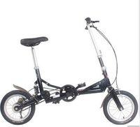 Wholesale quot Small Size Single Speed Folding Bicycle Bike Mini Foldable Bike Black