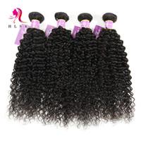 Cheap 7a Malaysian Virgin Hair 3 Bundles Kinky Curly Hair Wefts Wholesale Black Double Weft 3pcs Kinky Curl Hair