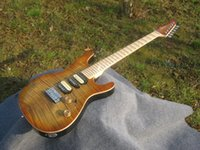 best scallops - Best Selling Sur electric guitar see thru brown posts tremolo maple fingerboard with scallop