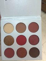 Wholesale New set Kylie Jenner New Eyeshadow Palette Matches Her Hair The Burgundy Palette kylie kyshadow new palette Kylie Cosmetics