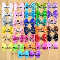 Wholesale 2016 newest Mix color mini Glitter Embroideried Sequin Bows baby girls Hair Bow DIY Accessories Bow princess bowtie