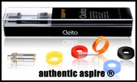 Wholesale newest and hottest authentic aspire cleito atomizer original genuine aspire cleito tank dual clapton coils ml stainess black color