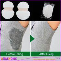 Wholesale 1 Pair Disposable Absorbing Underarm Sweat Guard Pads Deodorant Armpit Sheet Dress Clothing Shield Sweat Perspiration Pads que
