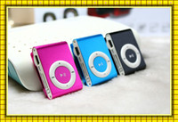 Wholesale Mini Clip MP3 Player without Screen Support Micro TF SD Card Cheap Sport Style MP3 Metal MP3 MP3 MP4 Players