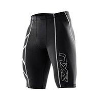 basketball compression shorts - 2016 New men Brands Gym Clothing Male Compression Tights Shorts Jogging Gymnastics Basketball Bermuda Masculina Men Gym Short Pants