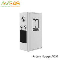 artery function - Artery Nugget V2 Mod mAh Battery fit ml Atomizer TCR Function Support w Out Put TM VM PM Mode