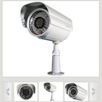Wholesale Foscam FI8905E POE Outdoor IP Wired CCTV Security Network Camera w Black Bracket security CCTV IP Camera