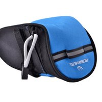 Wholesale Outdoor Bike Saddle Bag With Elastic tail buckle Under Seat Tail Pouch Mountain Cycling Seat Bags S3