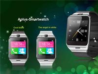 phone quad band - GV18 Aplus Smart Watch Phone with Camera NFC Unlocked Micro SIM card Slot Quad Band Bluetooth Gear For Andriod Phone SAMSUNG
