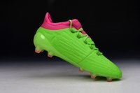 Wholesale 100 Original MERCURY X PURECHAOS FIRM GROUND FG AG Soccer Cleats Boots Ace Football Shoes Messi Mens High Ankle Top S79537