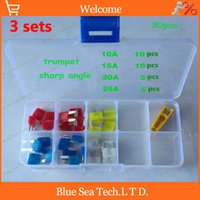 automobile fuses - sets A A A A small type Auto fuse Kit with transparent box car fuses sets automobile fuses