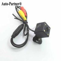 Wholesale 110 Degree Waterproof LED Night Vision Car CCD Rear View Camera Parking Assistance system For Monitor