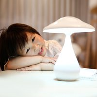 adjustable air beds - Mushroom Shaped Adjustable LIXADA LEDs W LED Table Light Rechargeable Air Purifier Lighting Night Desk Lamp with Batteries