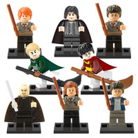 Wholesale 2016 new Harry Potter Hermione Granger Fantasy Literature Novels Minifigure Building Block Children Gift Toys bricks X0121