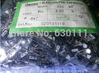 Wholesale NEW V UF MM UF V electrolytic capacitor